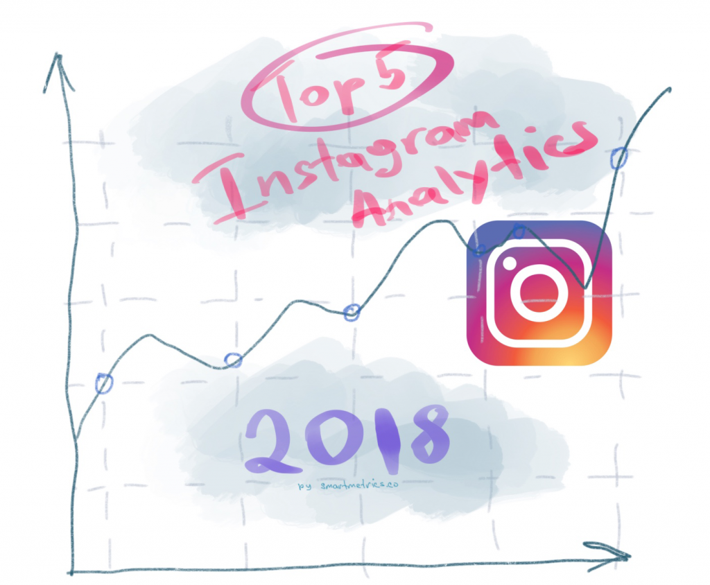 top 5 instagram analytics 2018